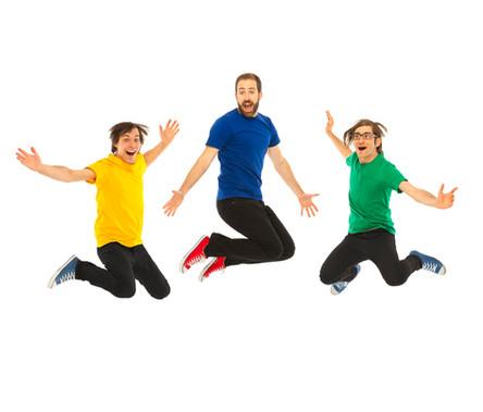 Will's Jams band jumping