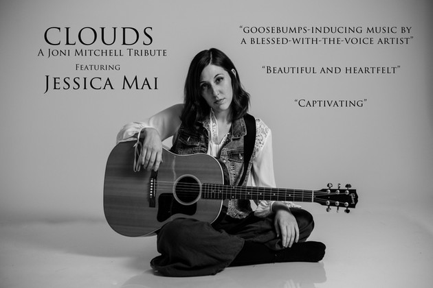 Clouds - Joni Mitchell Jessica Mai brand