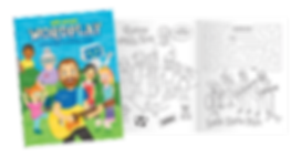 Will Stroet Wordplay colouring and activity book