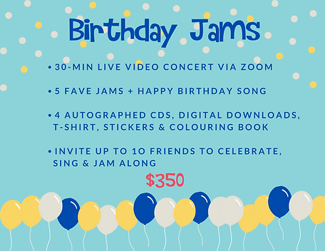 Will's Jams 30-min concert with price.pn