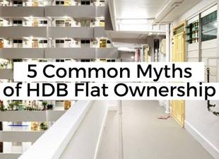 5 Common Myths of HDB Flat Ownership