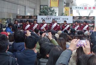 新入団選手が仙台市中心部商店街を訪問します(1/20)