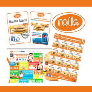 Rolls markkinointimateriaalia