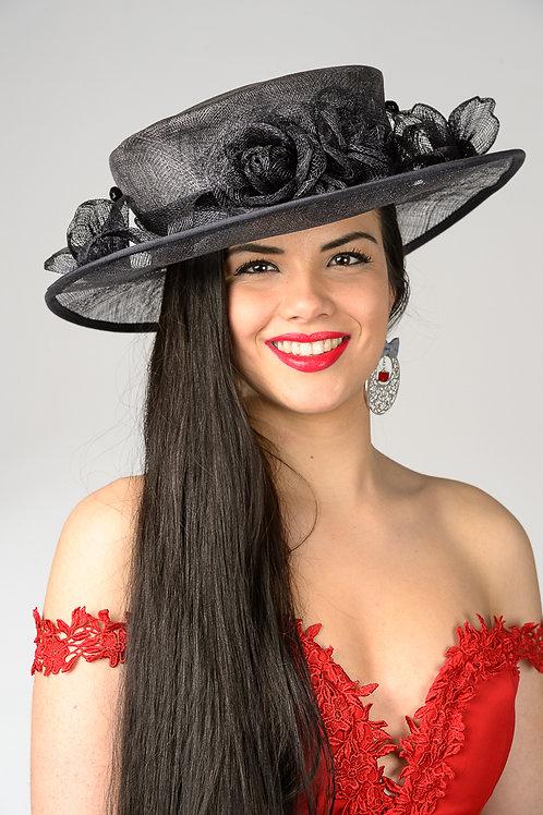 Chapeau noir Marie