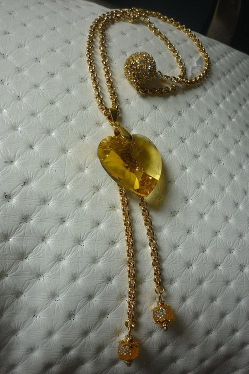 Sautoirs avec un beau pendentif en Cristal de Swarovski