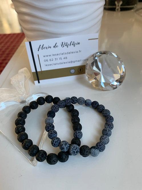 Bracelet Pierres de Laves