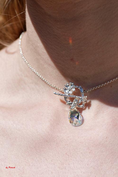 Collier Sophie avec pendentif en Cristal de Swarovski
