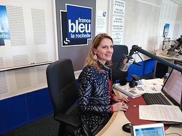 Interview Frane bleu La rochelle les éclats d'alexia