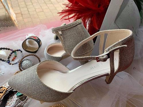 Chaussures femmes Mariée, argenté et dorée