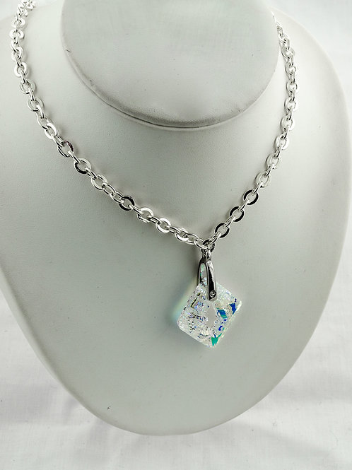 Collier Losange  en Cristal de Swarovski