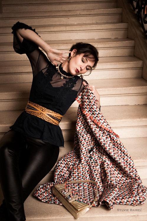 Cape en coton Chanel plusieurs coloris de disponible