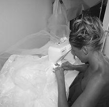 Création robes de mariée à la main