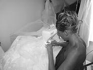 Création de robes de mariées