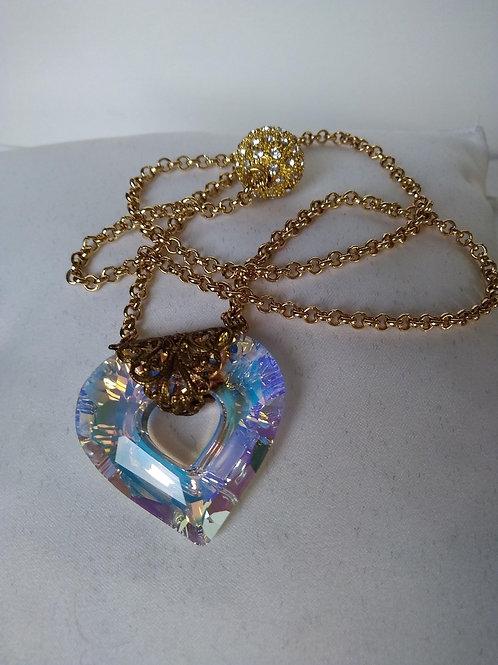 Collier Thaïs en Cristal de Swarovski plusieurs coloris