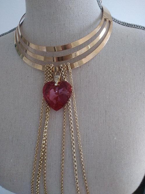 Bijoux de corps Coeur rouge