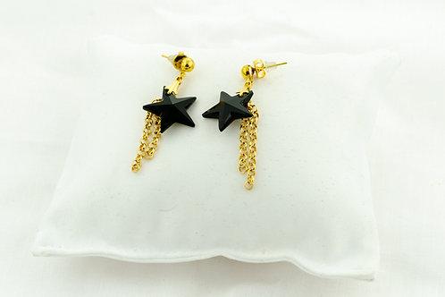 Boucles d'oreilles ma petite étoile en Cristal de Swarovski
