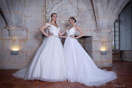 Création de robes de mariée sur-mesure