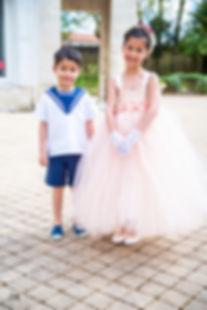Tenues enfants mariage