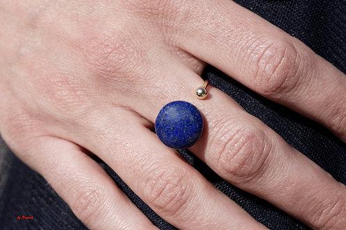 Bague Maud en Pierre fine Lapis Lazuli