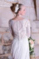 Robe mariage en dentelle fait main
