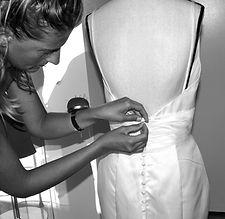 Confection de robes de mariée