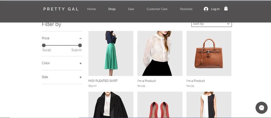 Clothing Ecommrce Website