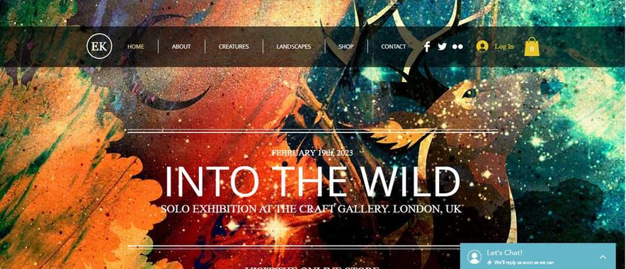 Art Gallery Website