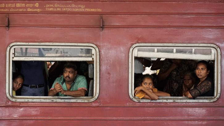 And so we begin in... Sri Lanka