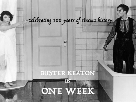 Buster Keaton's - One Week (1920), Celebrating 100 years of cinema history.