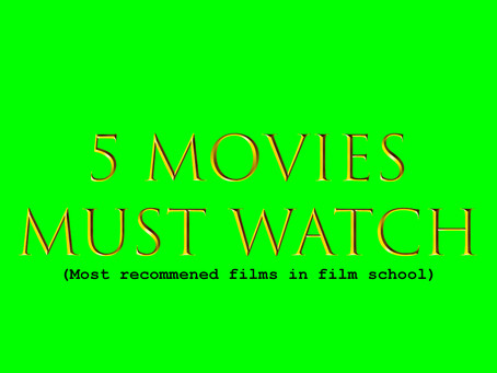 5 movies every student filmmakers must watch