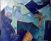 n°1 Technique mixte Acrylique et collage