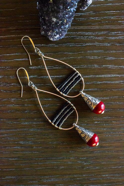 Tibetan Crimson Droplets