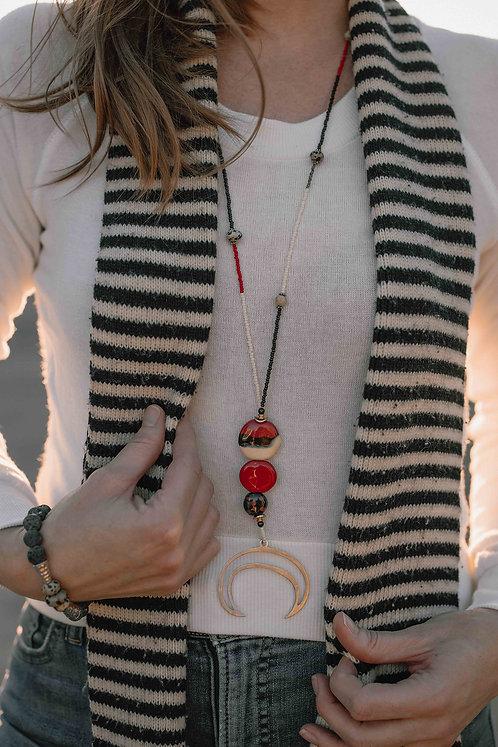 Keandra Seeded Necklace