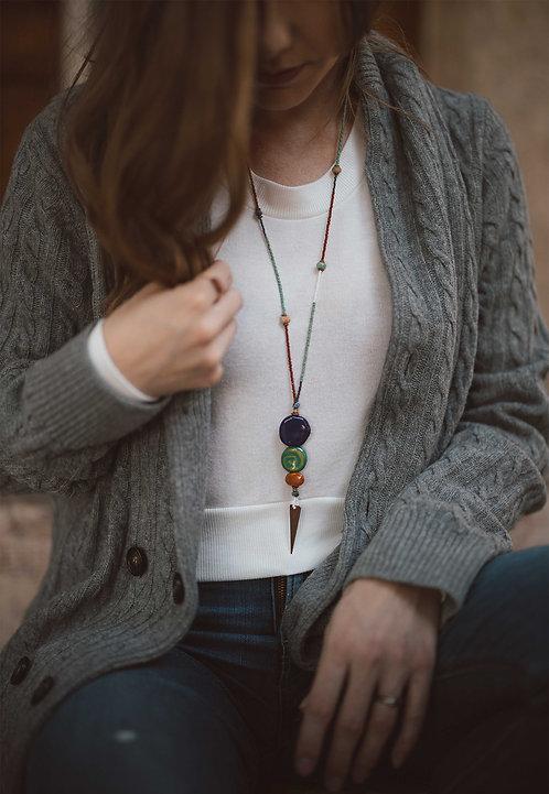 Bisa Seeded Necklace