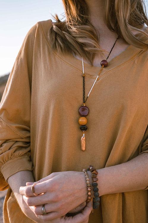 Jacenta Seeded Necklace
