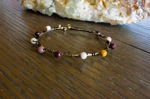 Mookaite Bangle