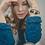 Thumbnail: Lapis Lazuli & Blue Lava Stretch Bracelet