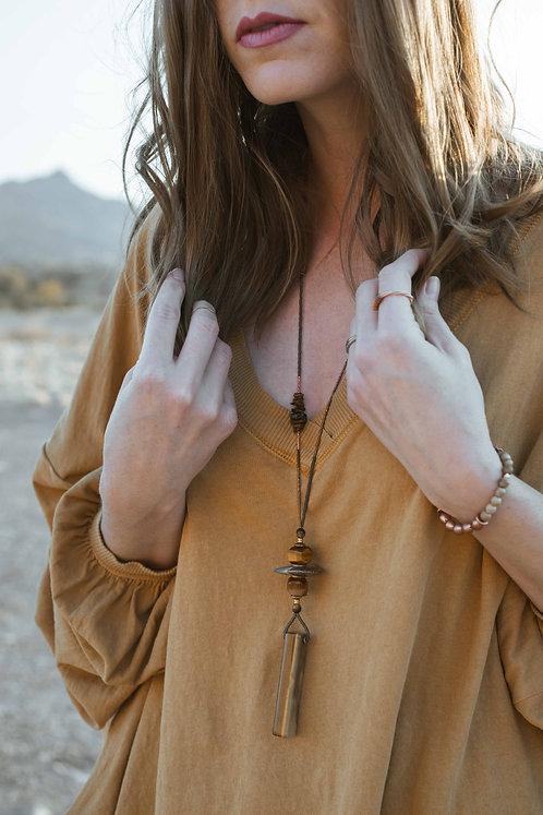 Araceli Seeded Necklace