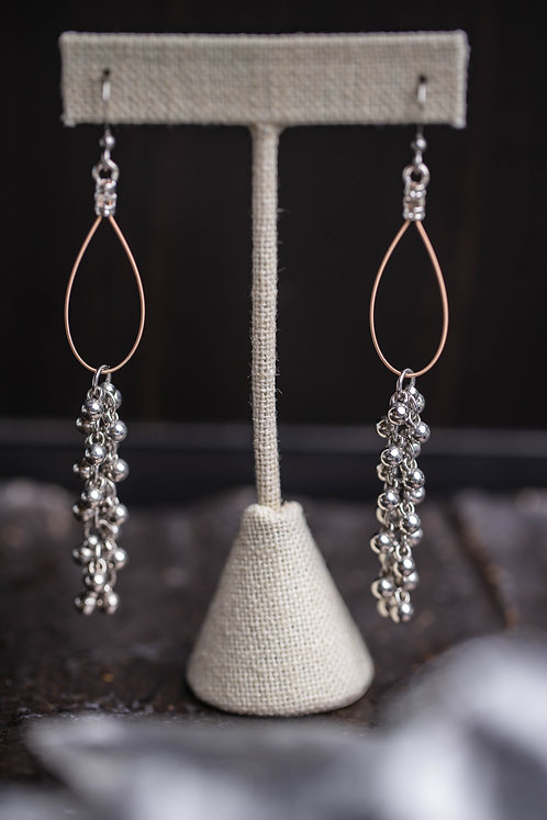 Sterling Silver Sphere Droplets