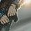 Thumbnail: Howlite & Wood Stretch Bracelet