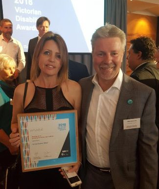 2018 Victorian Disability Award Winner