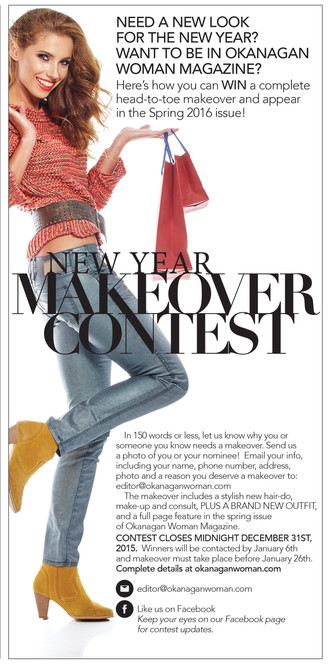 Enter our New Year Makeover Contest