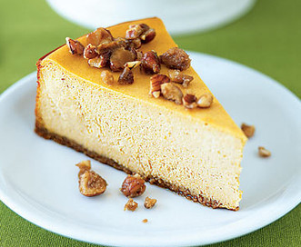 Perfect Pumpkin Pie Cheesecake