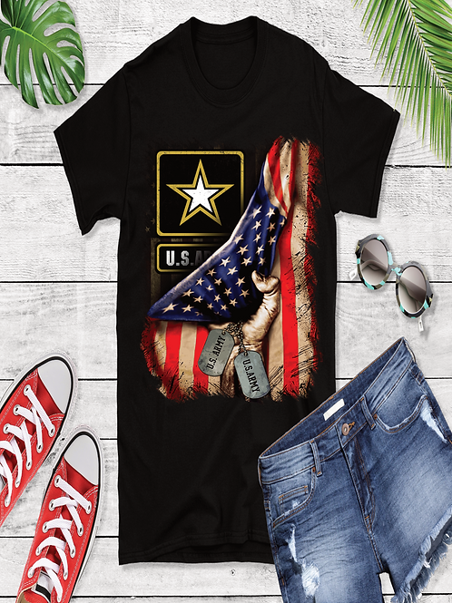 Army style T-shirts
