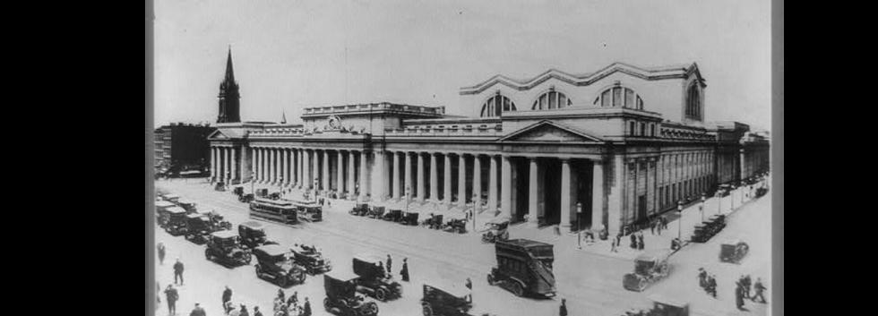 Penn. Station, New York City-c1920