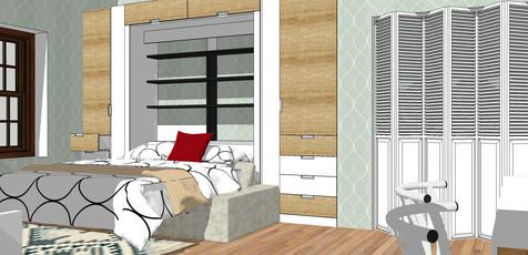 Studio Murphy bed