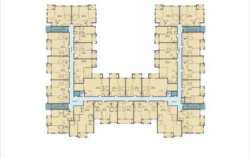 2D overall floor plan Rendering