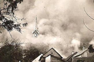 1940 m. bažnyčios gaisras