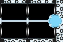 Black & Light Blue Circles (1)
