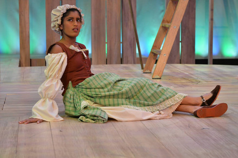 As Audrey in As You Like It